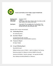Football-Club-Minutes-Meeting-Template