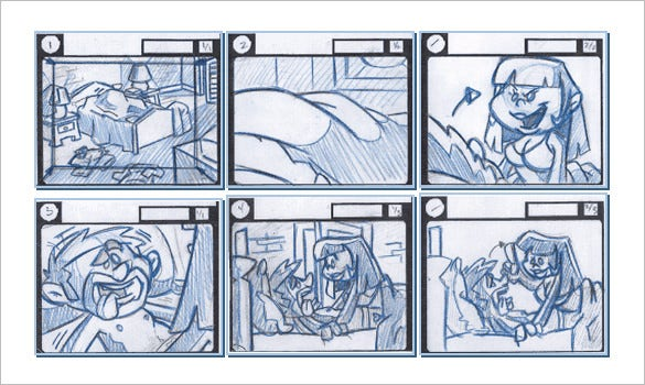 free animated template storyboarding tutorial