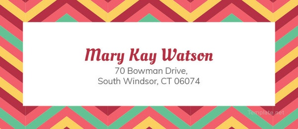 free-chevron-address-label-template-to-print