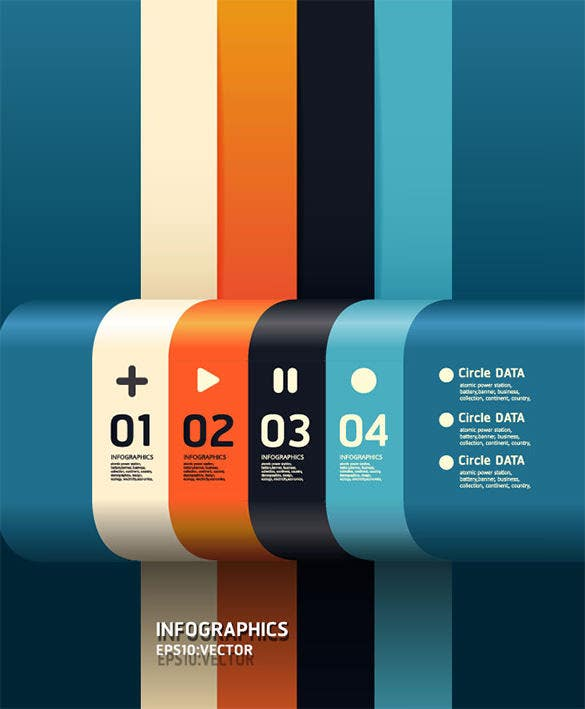 free colourful infographic design download