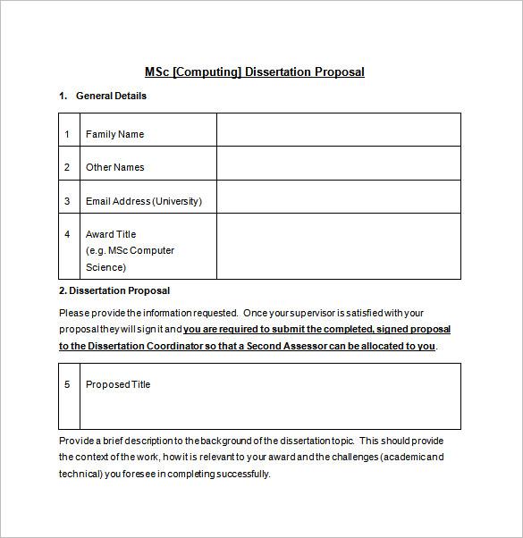cs thesis proposal