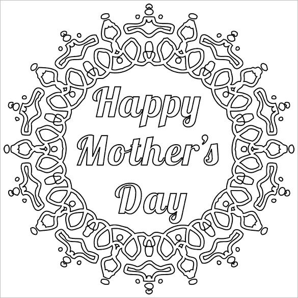 Mothers Day Card Template – 12+ Free Printable Word, Pdf, Psd, Eps