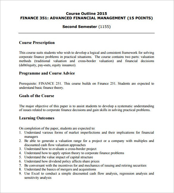 Course Design Document Template  Training Design Document