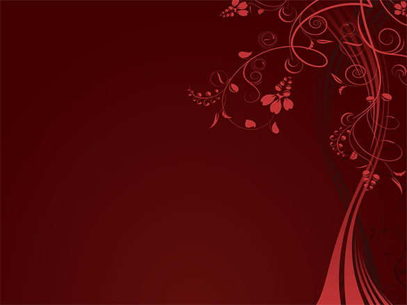 free floral red background download
