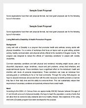 Free-Grant-Proposal-Template