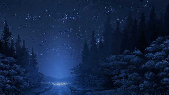 free pleasent star background download