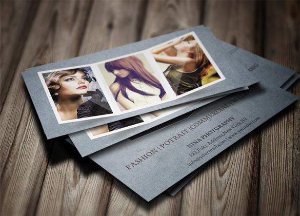 free print design psd photo card