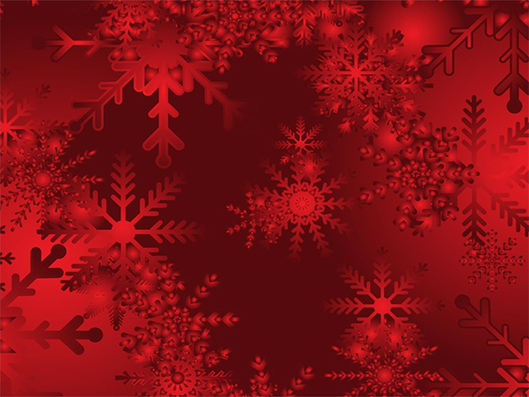 free snowy beautiful red background