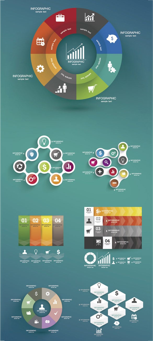 free vector infographic element download
