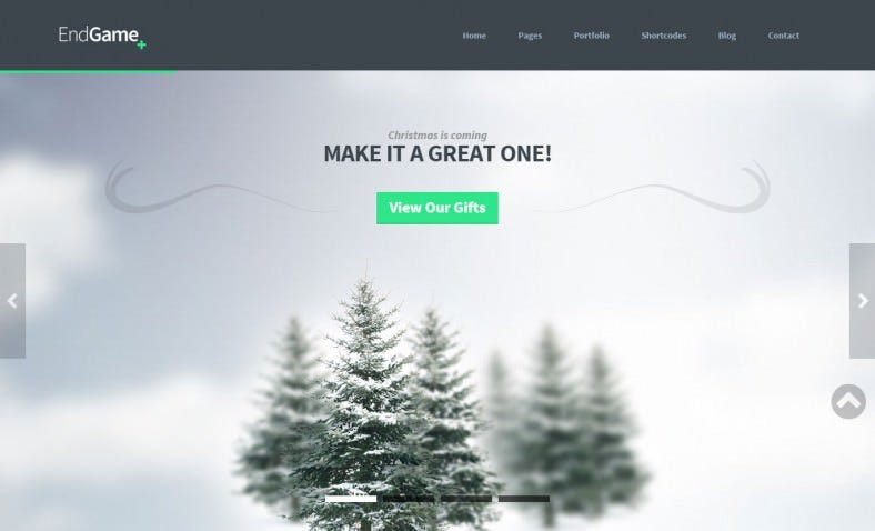 Fully Responsive Business Template with Retina-Ready Graphics