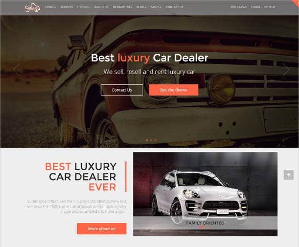 fully responsive car dealership website template1
