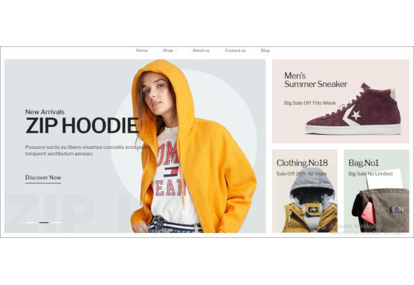 fully responsive fashion ecommerce opencart theme1