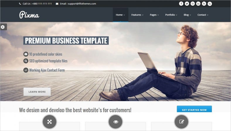 Fully Responsive Multi Purpose HTML5 Template