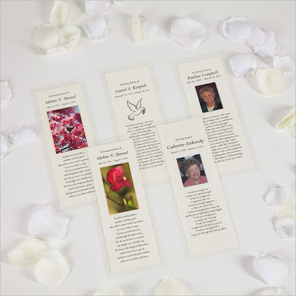 21  obituary card templates  u2013 free printable word  excel