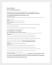 funeral notice sample template