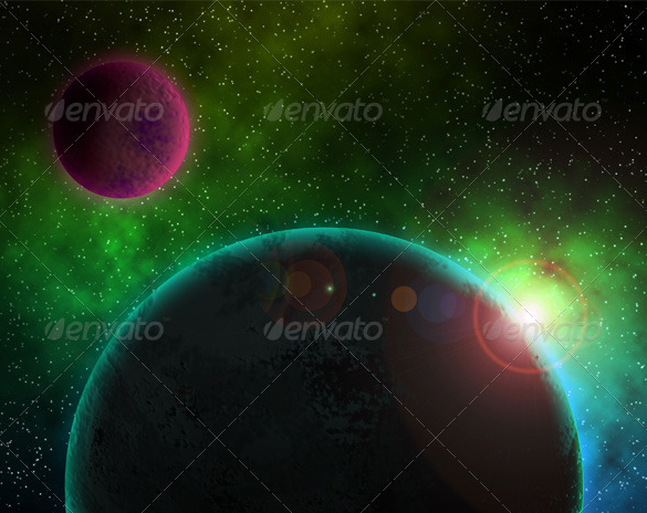 furistic premium space background download
