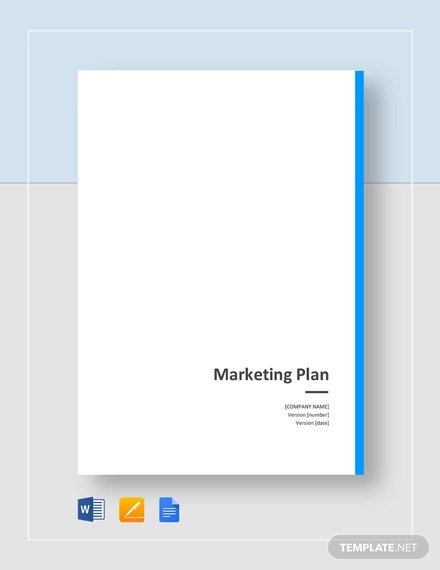 general marketing plan template