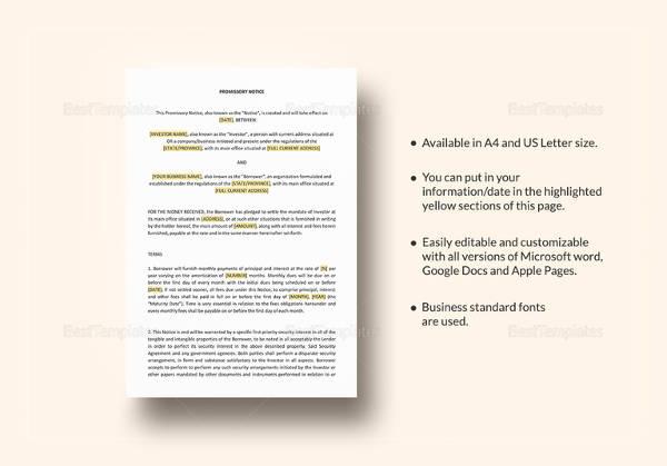 promissory note pdf in telugu format