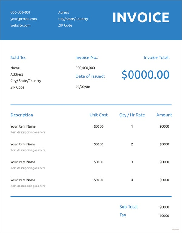 generic-commercial-invoice-template