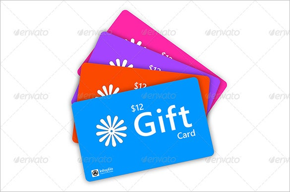 Gift Card Template   Free Sample Example Format Download  Free