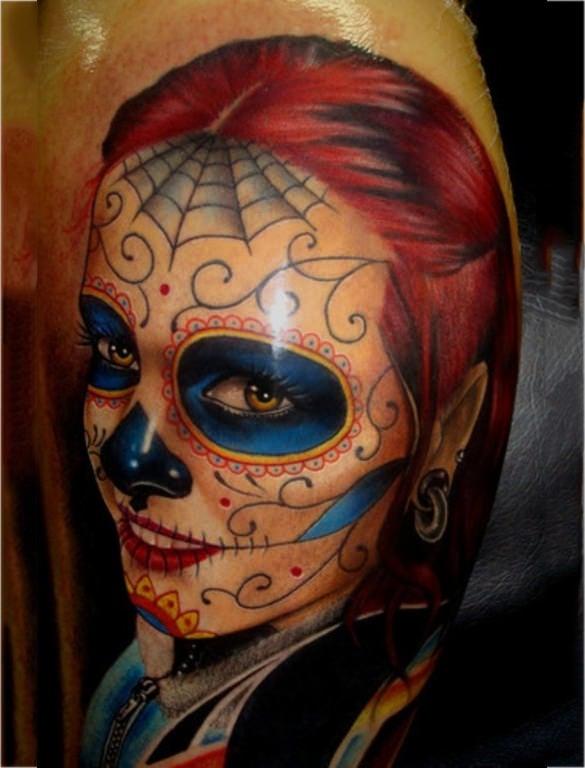 glorious 3d tattoo design