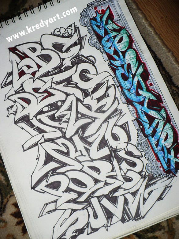 Good Graffiti Letter Style Download