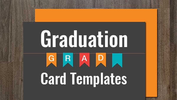 9 Graduation Card Templates Psd Ai Eps