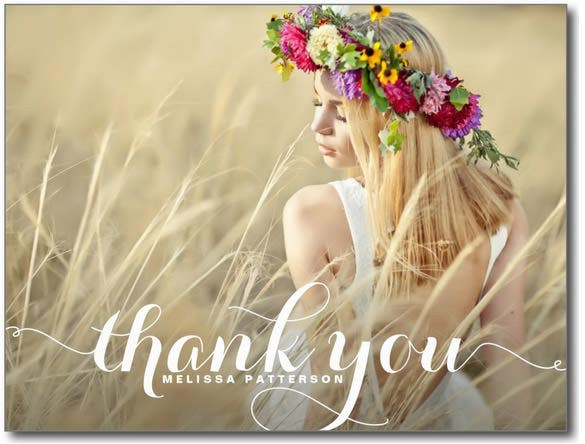 21 photo thank you cards free printable psd eps format download