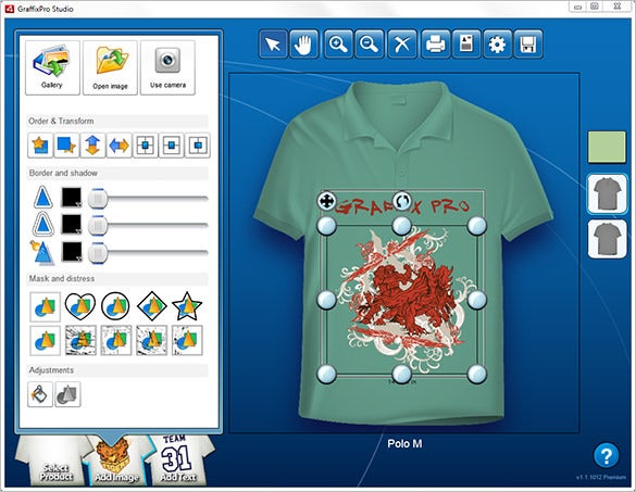 graffixpro studio® t shirt design software