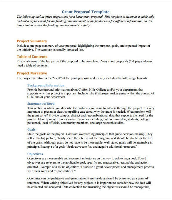 Project Proposals Five Features Of A Good Project Proposal