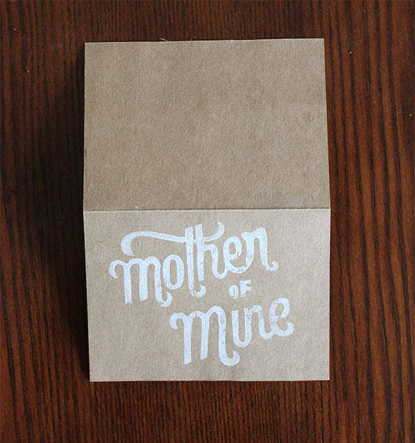 graphic design mothers day card template free
