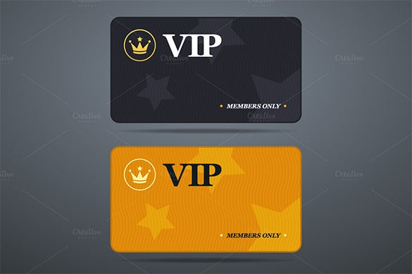 Nice This Membership Card Specimen Is Just Very Apt For Designing Cards For Your  VIP Members Of Your Facility. The Template Has An Abstract Design And Has  An ... To Membership Card Samples