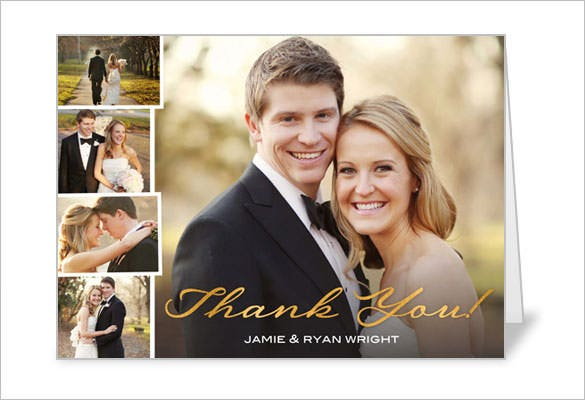 21+ Wedding Thank You Cards - Free Printable PSD, EPS ...