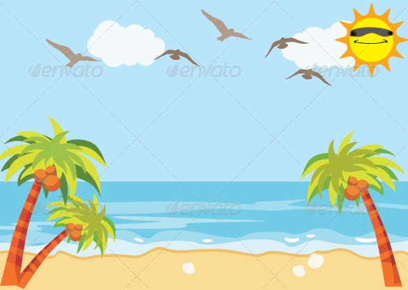 great premium beach background download