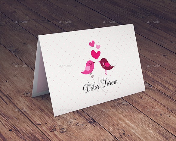 greeting invitation card mockup download