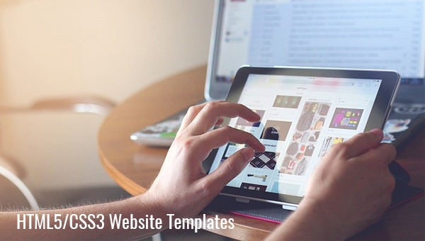 html5 css3 website templates