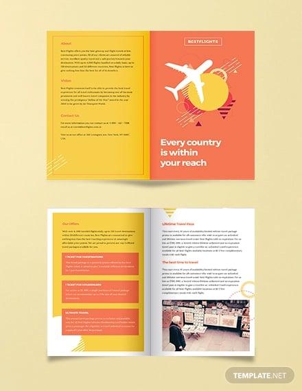 half fold brochure template1