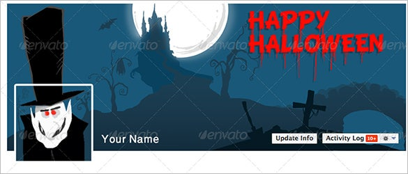 halloween facebook themes