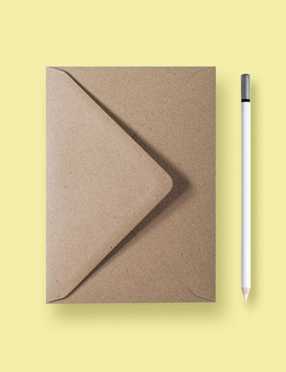 handmade 5x7 envelope template download