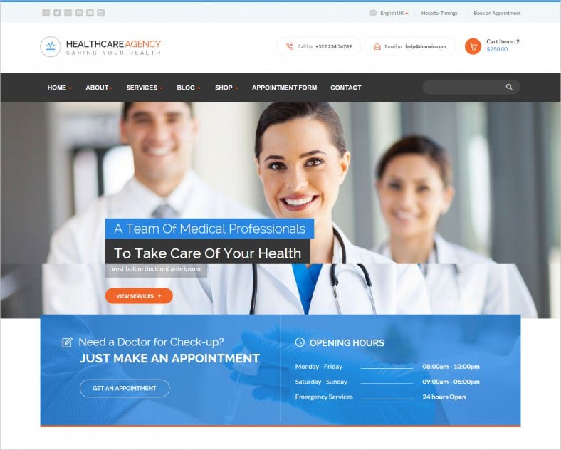 healthcare agency health medical html 788x632
