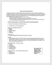 Historical-Facebook-Project-Template-Free-Google-Doc