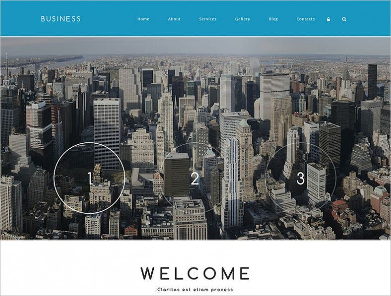 Home Slider Integrated Business Associate Drupal Template