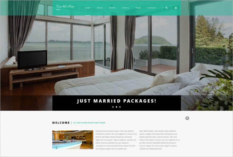 hotel suite joomla template 788x531