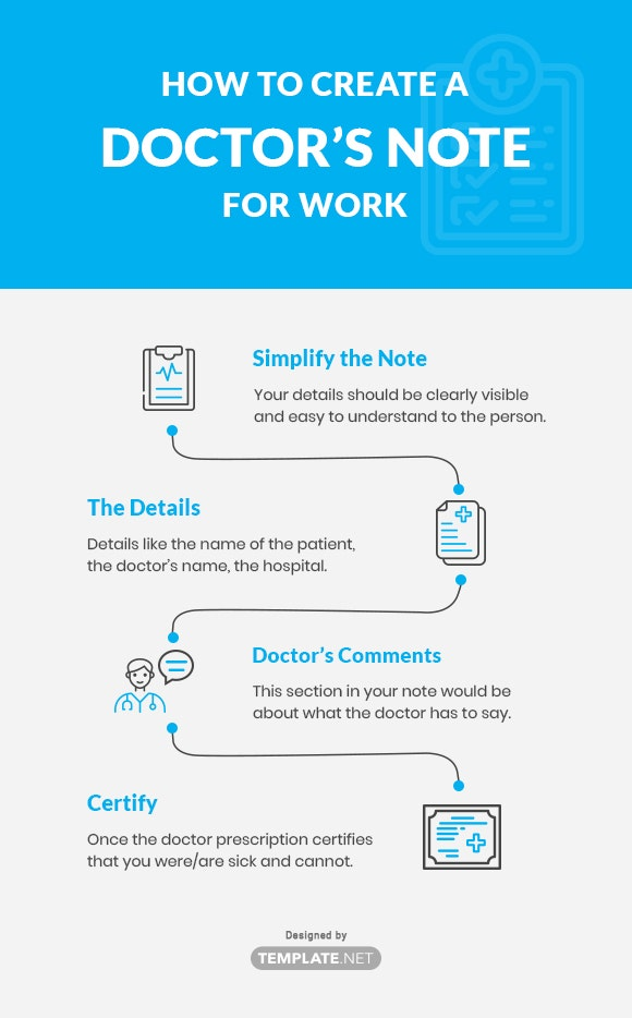 how to create a doctor's note for work