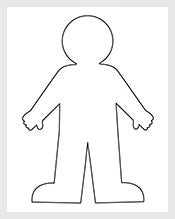 Human-Body-Outline-For-Kids-Template