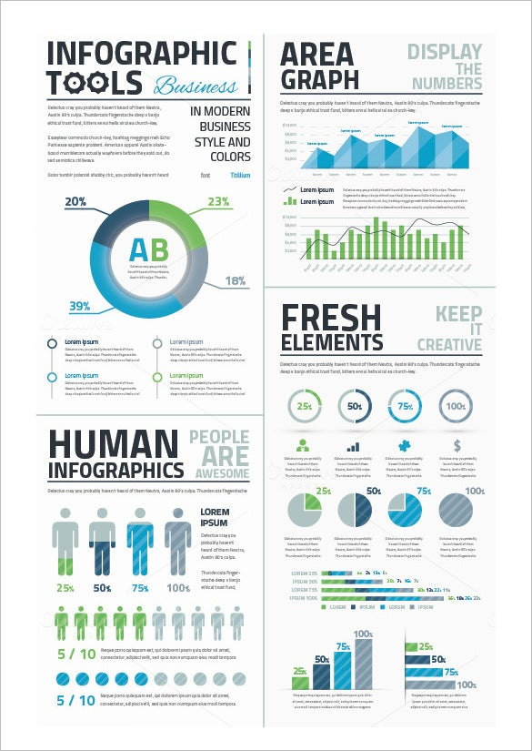 human infographics premium download