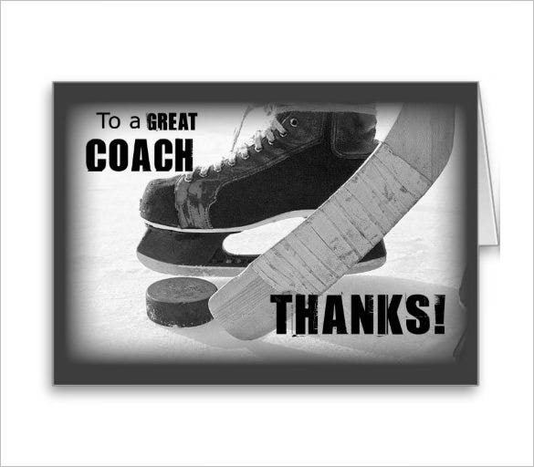 Sports Thank You Card - 20+ Free Printable Psd, Eps, Format