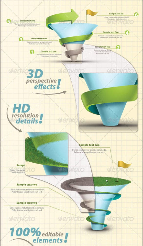 infographic elements premium download