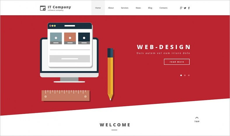 Information Technology Company WordPress Theme