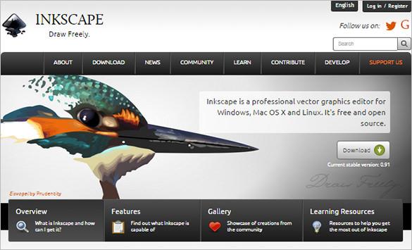 Inkscape Free Designing Tool
